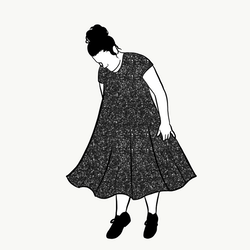 Glitter groove dress kort ärm