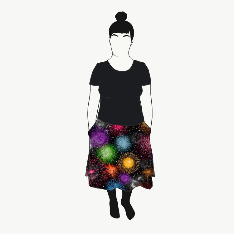 Nyår kjol
