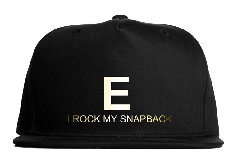 Snapback - rock - GULD