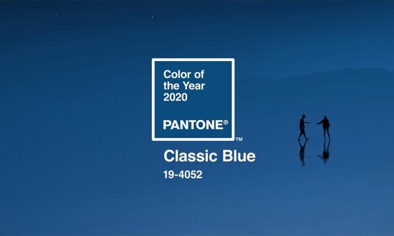 PANTONE HAR UTSETT ÅRETS FÄRG 2020 – CLASSIC BLUE