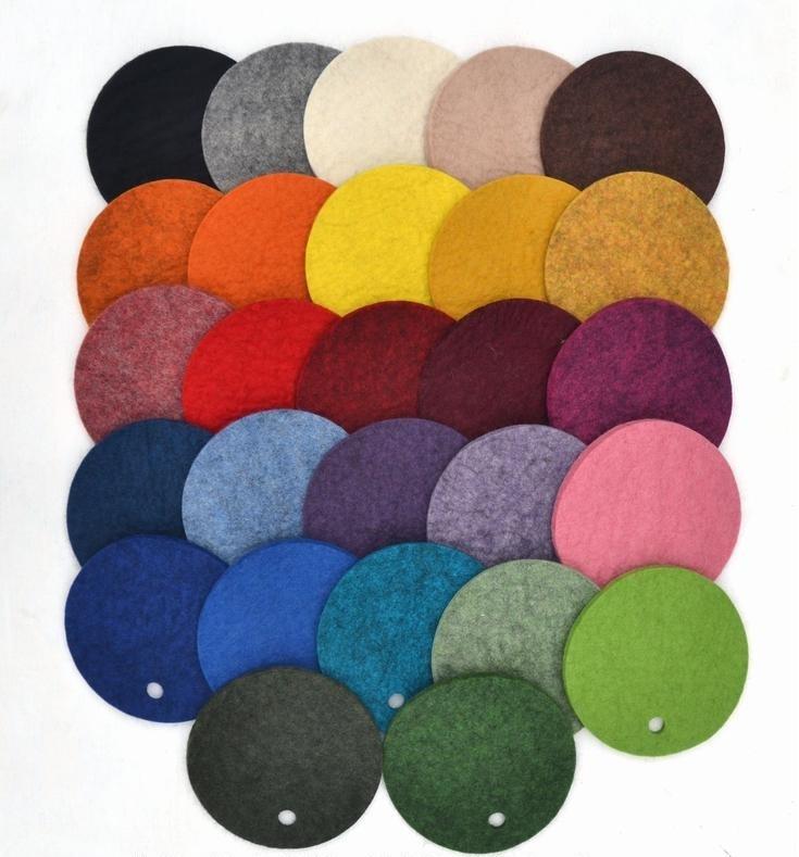 Färger på kuddfodral