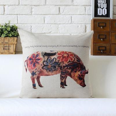 Kuddfodral - MönsterAndy Warhol - Pig