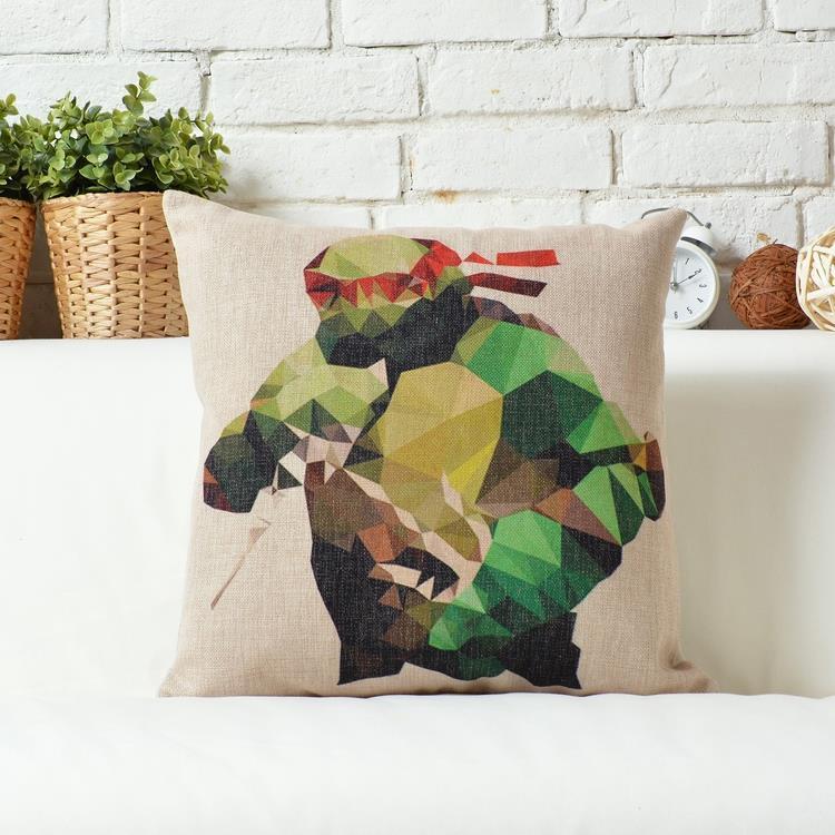 Kuddfodral - Barnkuddar - Teenage Mutant Ninja Turtles (Raphael)