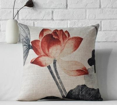 Kuddfodral - Natur - Blommor 13