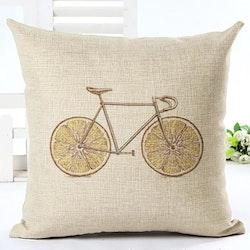 Kuddfodral - Cykel med citronhjul 1