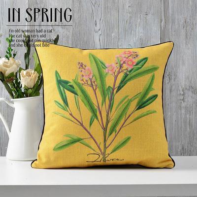 Kuddfodral - Natur - Blommor 21