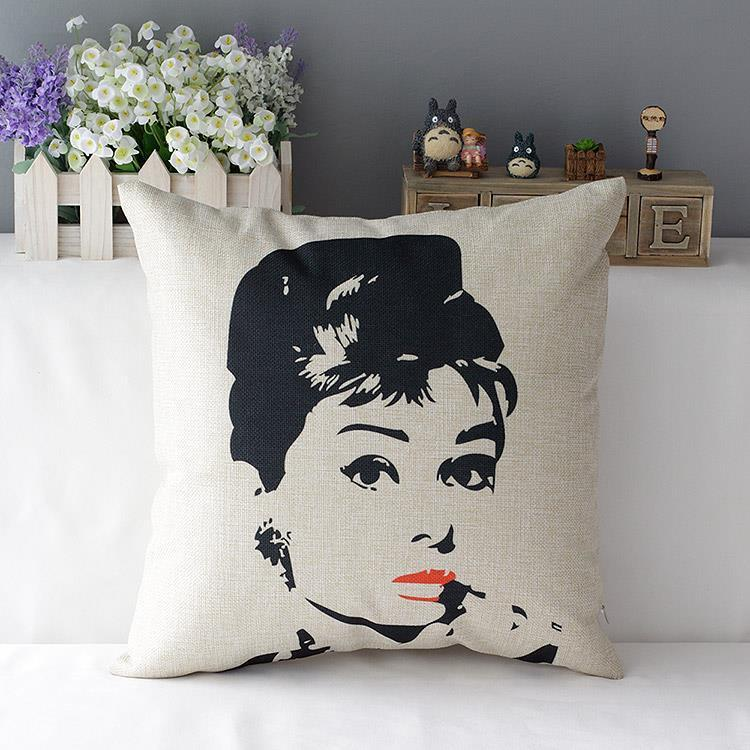 Kuddfodral - Audrey Hepburn 1