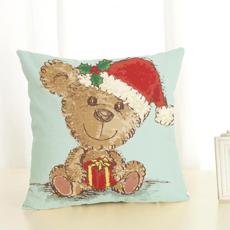 Kuddfodral - Barn - Julbjörnen