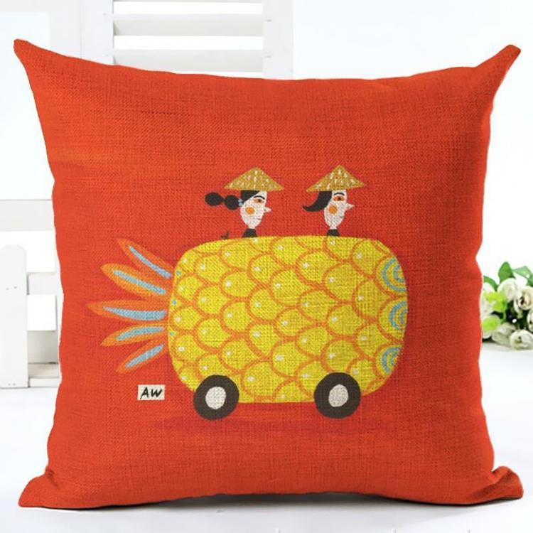 Kuddfodral - Ananas 24