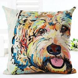 Kuddfodral - Djur - Hund 12