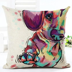 Kuddfodral - Djur - Hund 16