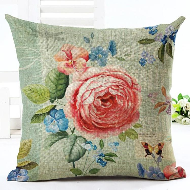 Kuddfodral - Natur - Blommor 29