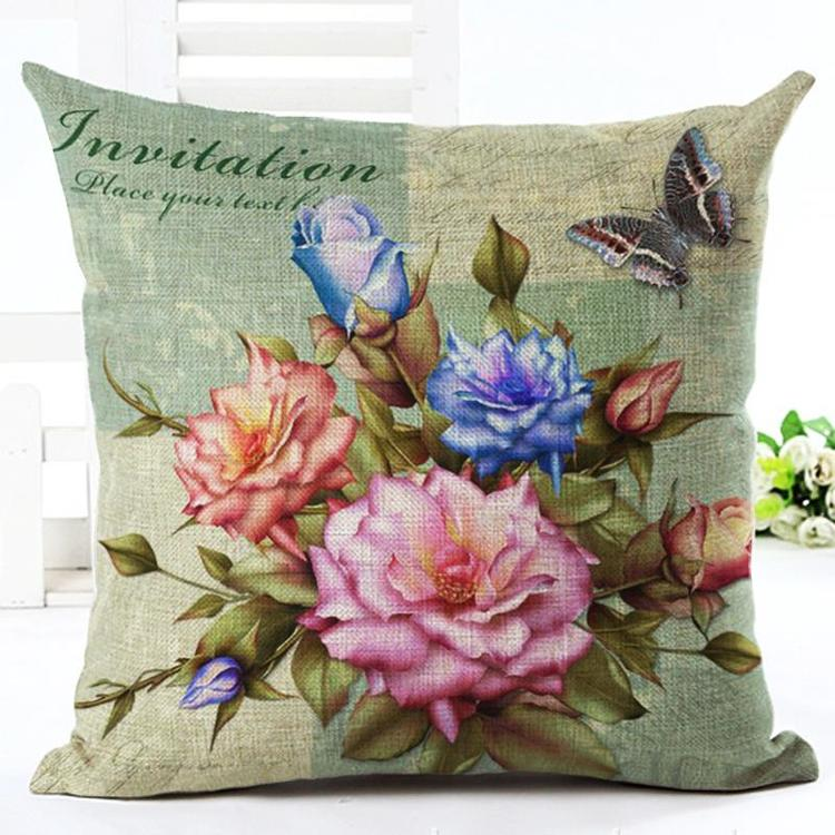 Kuddfodral - Natur - Blommor 31