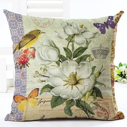 Kuddfodral - Natur - Blommor 34