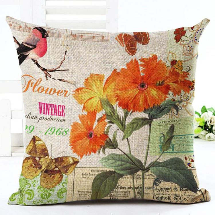 Kuddfodral - Natur - Blommor 35