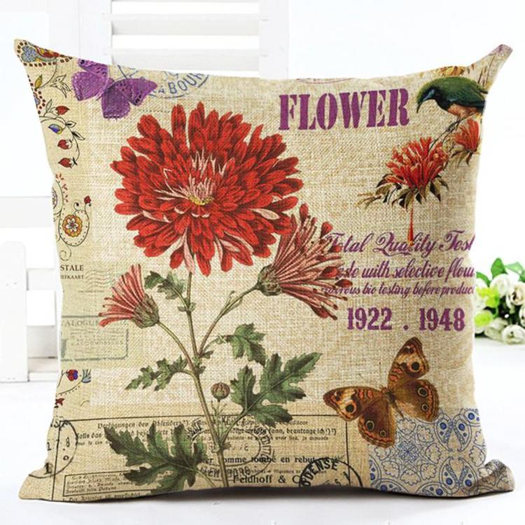 Kuddfodral - Natur - Blommor 36
