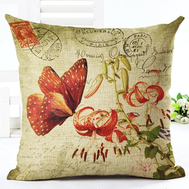 Kuddfodral - Natur - Blommor 37
