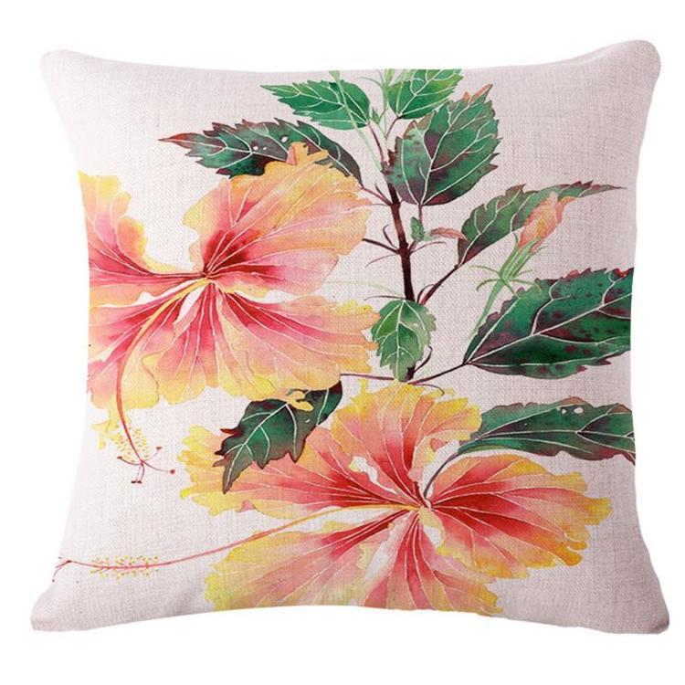 Kuddfodral - Natur - Blommor 56