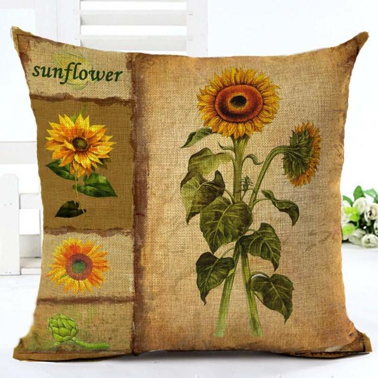 Kuddfodral - Natur - Blommor 73