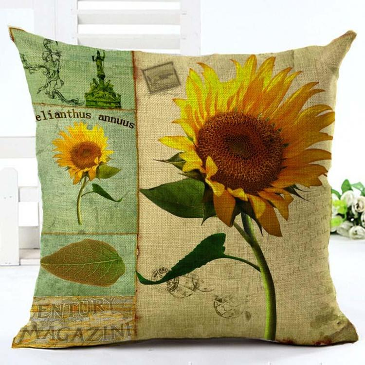 Kuddfodral - Natur - Blommor 74