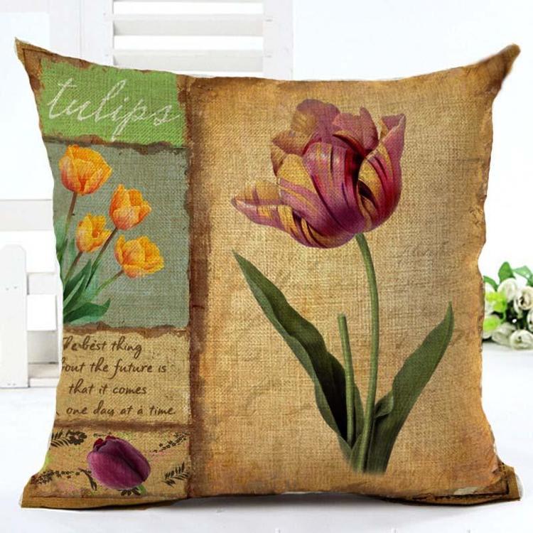 Kuddfodral - Natur - Blommor 77