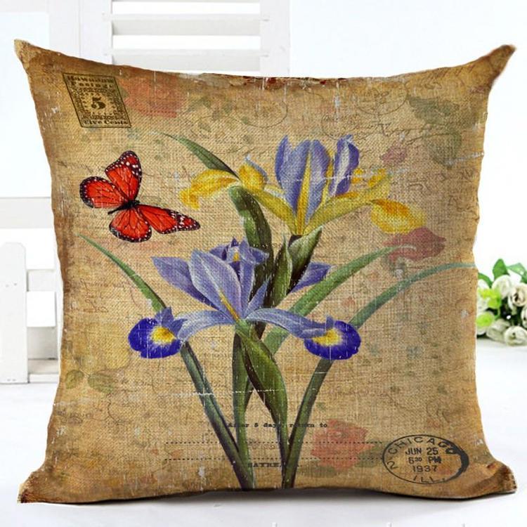 Kuddfodral - Natur - Blommor 80