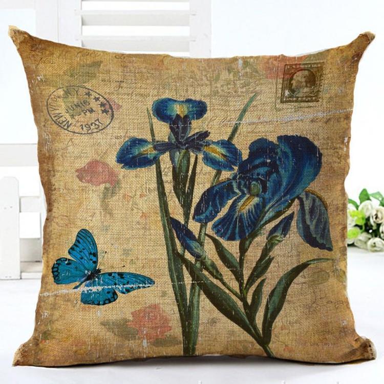 Kuddfodral - Natur - Blommor 81