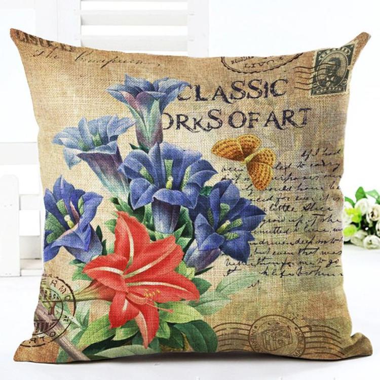 Kuddfodral - Natur - Blommor 91