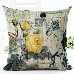 Kuddfodral - Natur - Blommor 113
