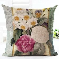 Kuddfodral - Natur - Blommor 120