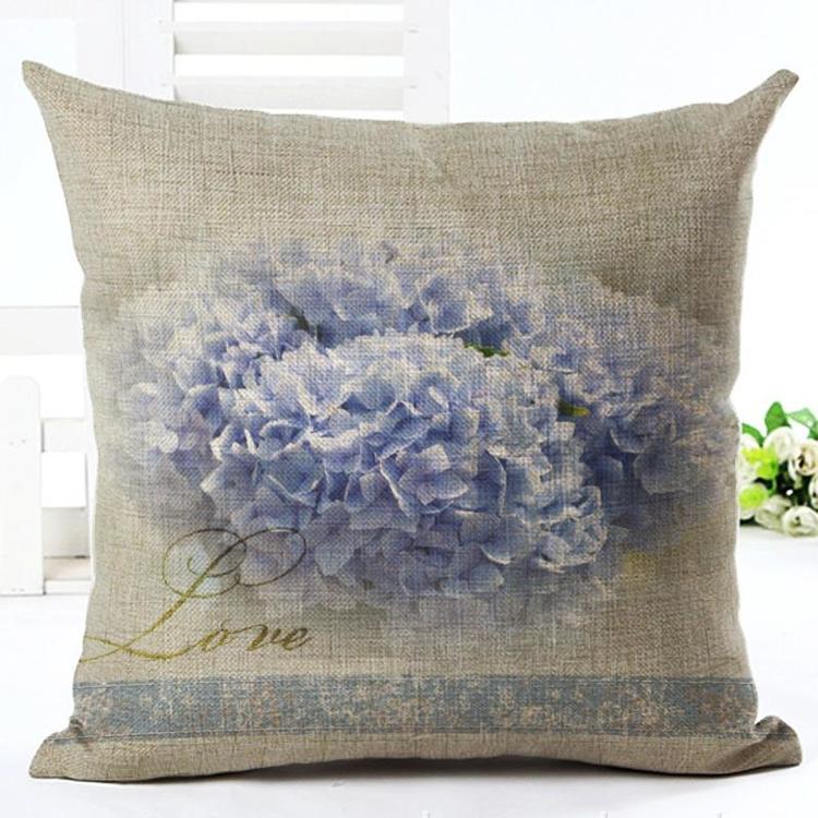 Kuddfodral - Natur - Blommor 130