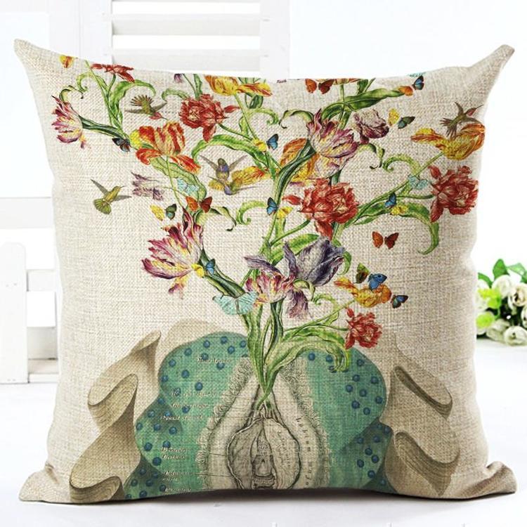 Kuddfodral - Natur - Blommor 134