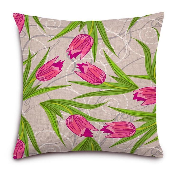 Kuddfodral - Natur - Blommor 136