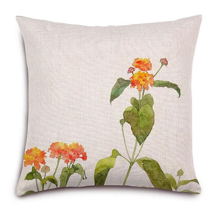 Kuddfodral - Natur - Blommor 137