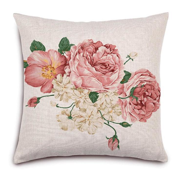 Kuddfodral - Natur - Blommor 141