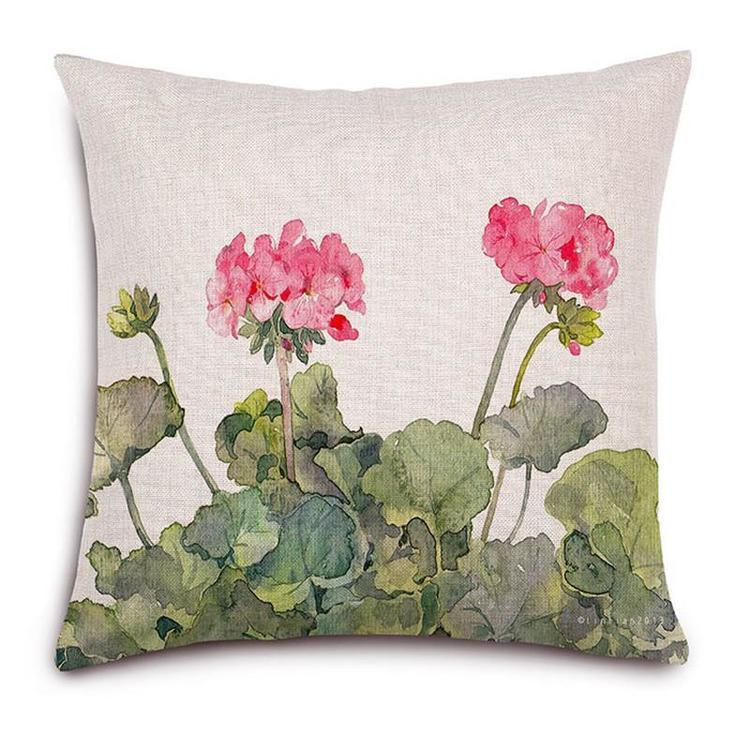 Kuddfodral - Natur - Blommor 146