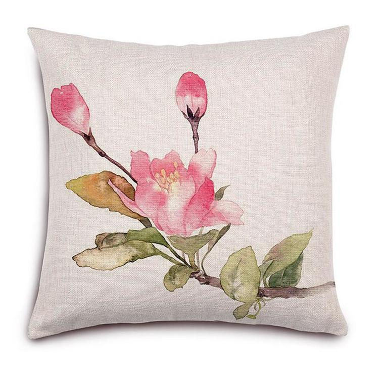 Kuddfodral - Natur - Blommor 147