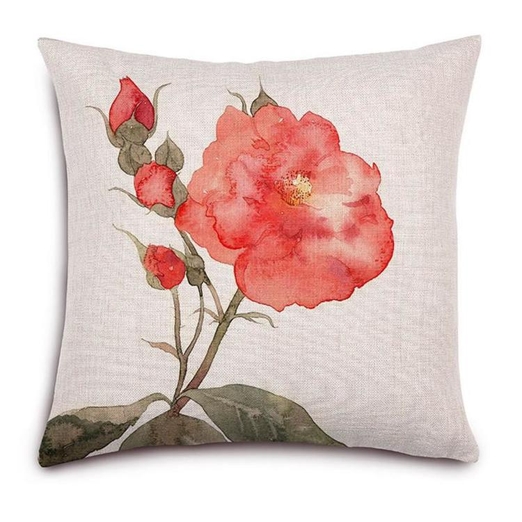 Kuddfodral - Natur - Blommor 148