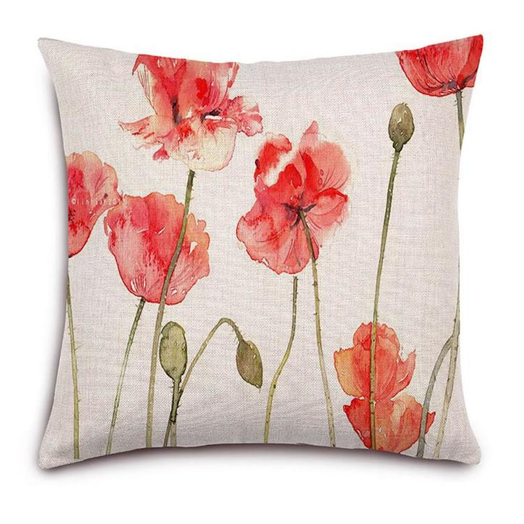 Kuddfodral - Natur - Blommor 149