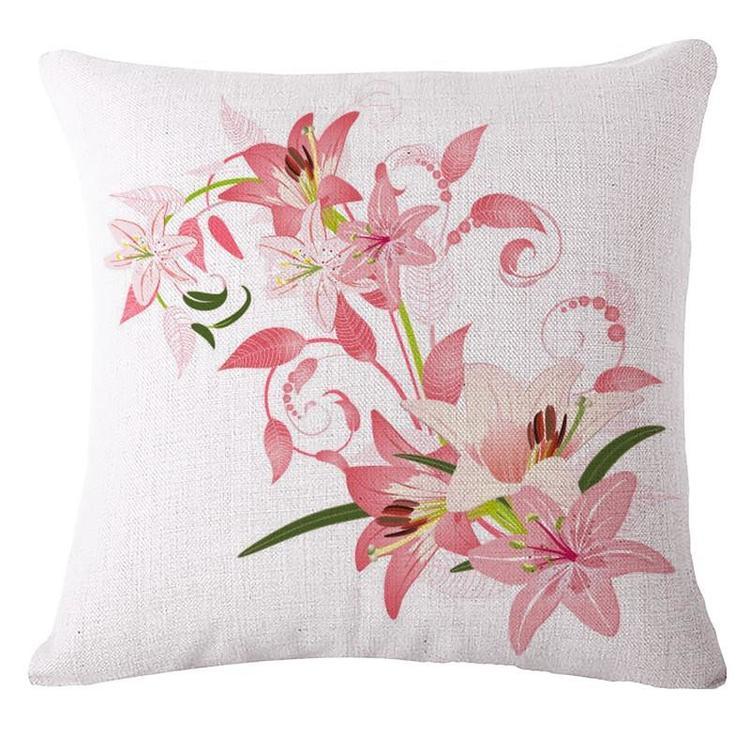 Kuddfodral - Natur - Blommor 156
