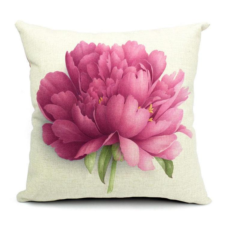Kuddfodral - Natur - Blommor 159 (Pion)