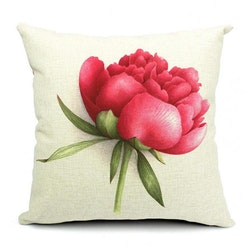 Kuddfodral - Natur - Blommor 160 (Pion)
