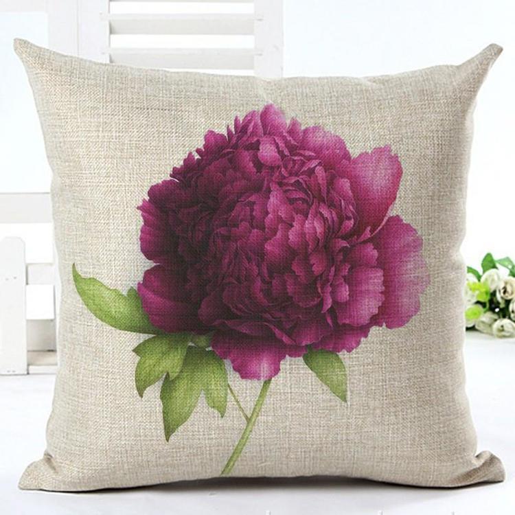 Kuddfodral - Natur - Blommor 165 (Pion)