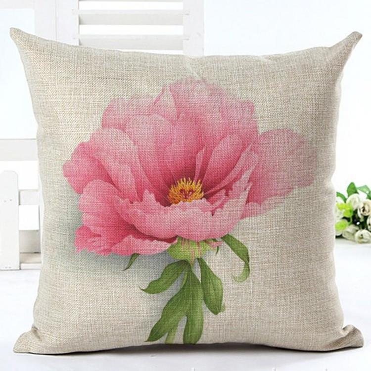 Kuddfodral - Natur - Blommor 166 (Pion)