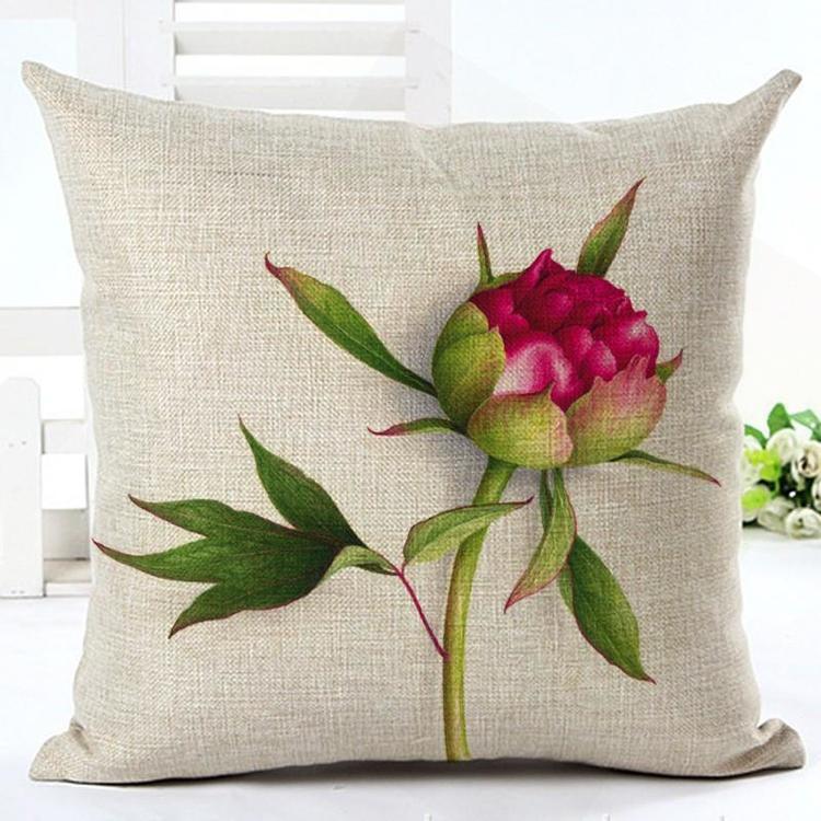 Kuddfodral - Natur - Blommor 169 (Pion)