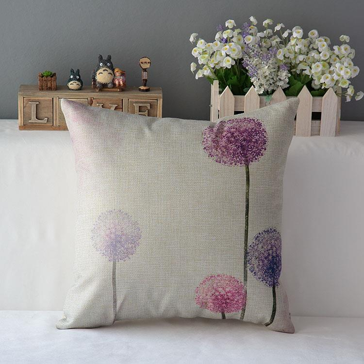 Kuddfodral - Natur - Blommor 173