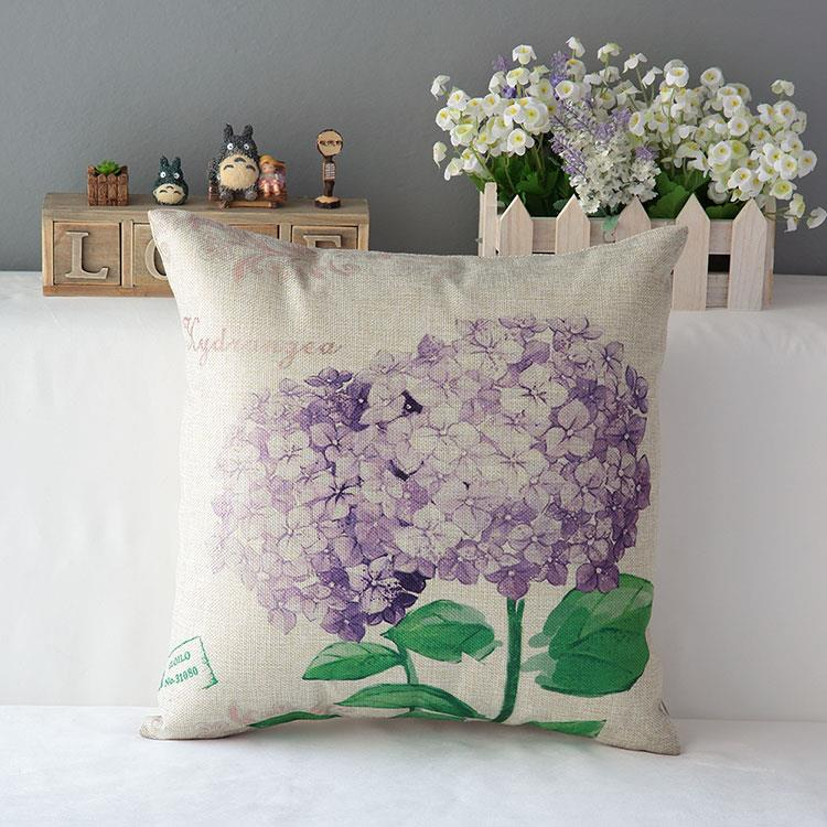 Kuddfodral - Natur - Blommor 174