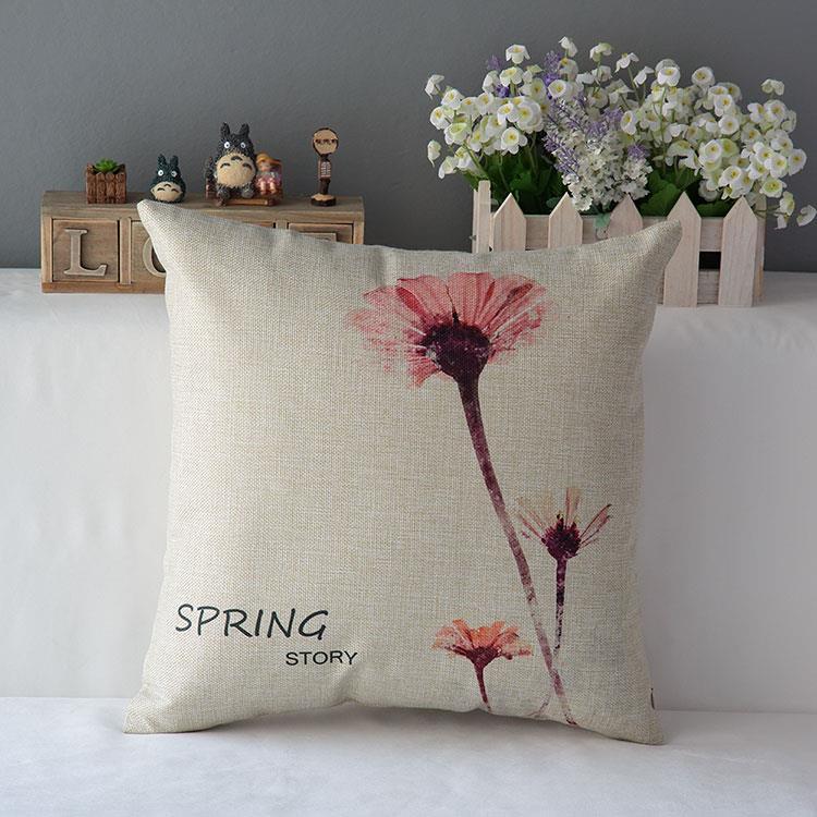 Kuddfodral - Natur - Blommor 175