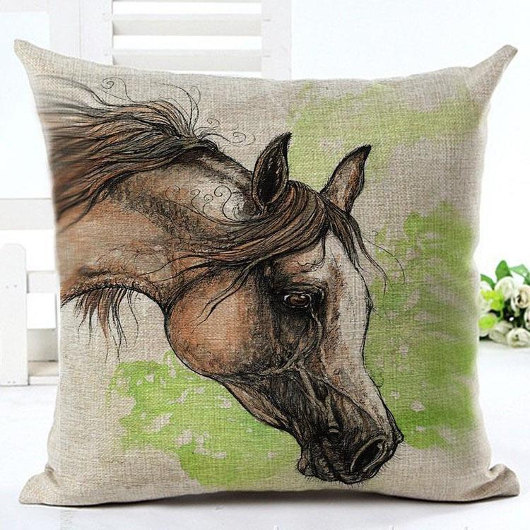 Kuddfodral - Djur - Häst 10