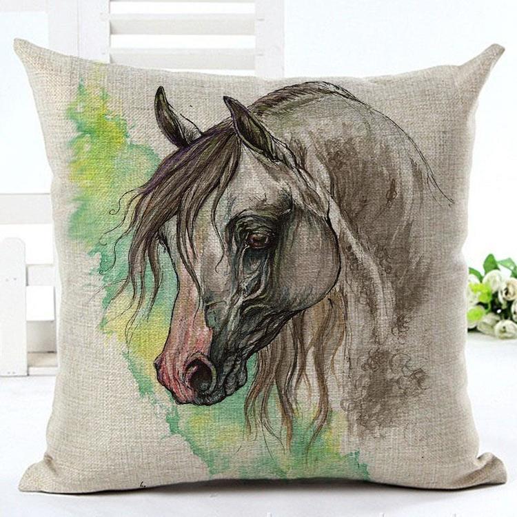 Kuddfodral - Djur - Häst 11